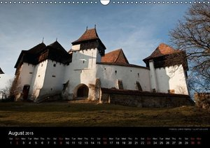 Monuments of Romania 2015 (Wall Calendar 2015 DIN A3 Landscape)