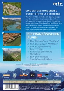 Die Alpen Von Oben-Die Französische Alpen