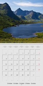 Norway - Fascination of the North (Wall Calendar 2015 300 × 300
