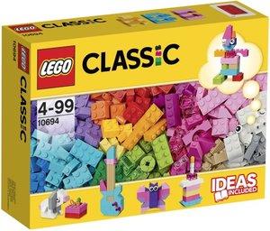 LEGO Classic 10694 - Baustein-Ergänzungsset Pasteltöne