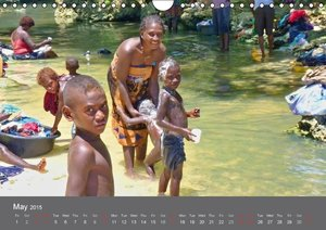 Children of Papua New Guinea (UK Version) (Wall Calendar 2015 DI