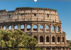 a weekend in Rome / UK-Version (Wall Calendar 2016 DIN A3 Landsc