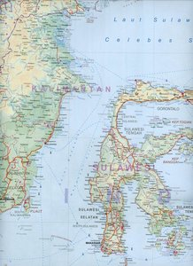 South East Asia Travel Map 1 : 4 000 000
