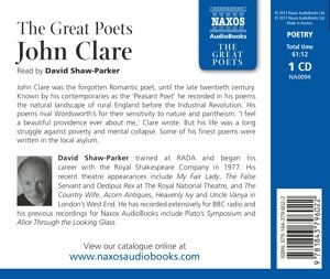 The Great Poets: John Clare