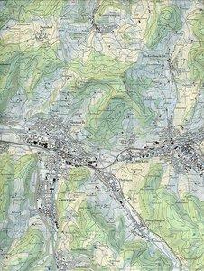 Swisstopo 1 : 25 000 Sissach
