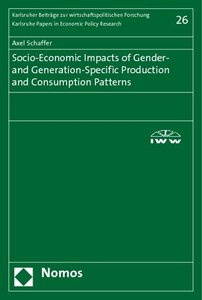 Socio-Economic Impacts of Gender- and Generation-Specific Produc