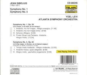 Sinfonien 1 & 5