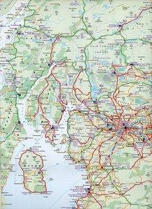 Nicolson Map: Scotland Tourist Map 1 : 480 000