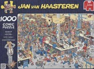 Jan van Haasteren - Massen an den Kassen - 1000 Teile