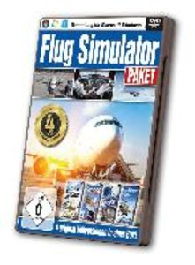 4in1 Flug Simulator Spiele-Paket