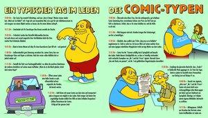 Simpsons Comic-Typs Buch-Der Popkultur