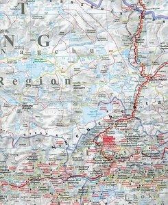 Tibet Road Map 1 : 2 000 000