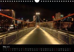 Frankfurt Skylights / UK-Version (Wall Calendar 2015 DIN A4 Land