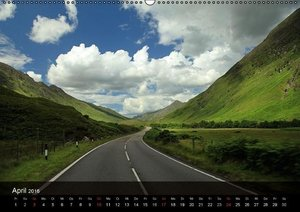 Schottland - magischen Orten auf der Spur (Wandkalender 2016 DIN