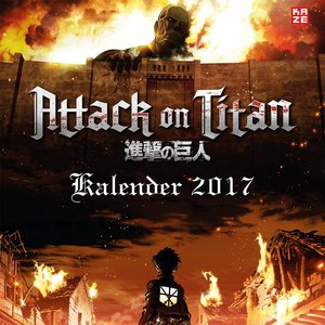 Attack on Titan - Wandkalender 2017