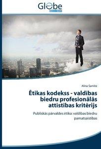 Etikas kodekss - valdibas biedru profesionalas attistibas kriter