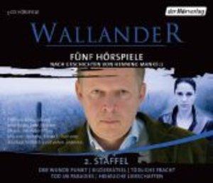 Wallander. Fünf Hörspiele. 2. Staffel