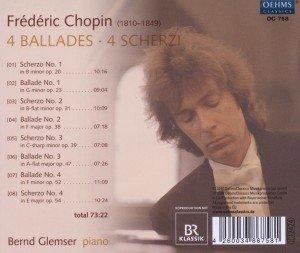 4 Balladen-4 Scherzi
