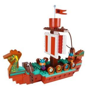 Big 57068 - Playbig Wickie, Das Drachenboot