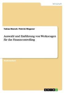 Auswahl und Einführung von Werkzeugen für das Finanzcontrolling
