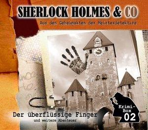 Sherlock Holmes & Co-Die Krimi Box 2 (3 CDs)