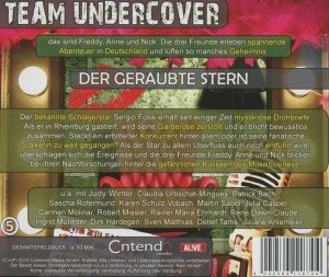Team Undercover 05: Der geraubte Stern