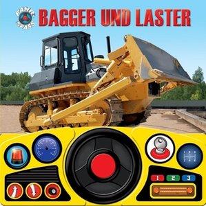 Lenkradbuch Bagger und Laster