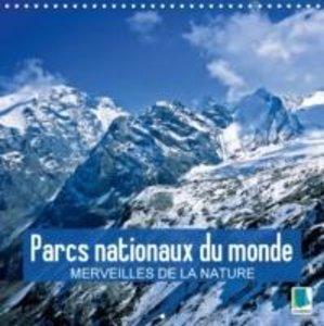 Parcs nationaux du monde - Merveilles de la nature (Calendrier m