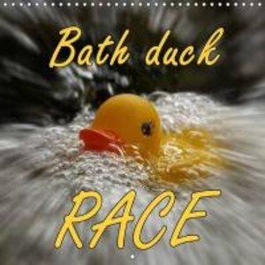 Bath duck Race (Wall Calendar 2015 300 × 300 mm Square)