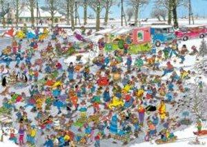 Jumbo Spiele 01618 - Jan van Haasteren: Auf der Eisfläche