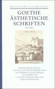 Ästhetische Schriften 1771 - 1805