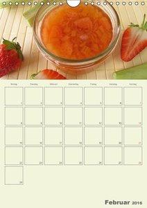 Frisch und fruchtig - Gelees und Konfitüren (Wandkalender 2016 D