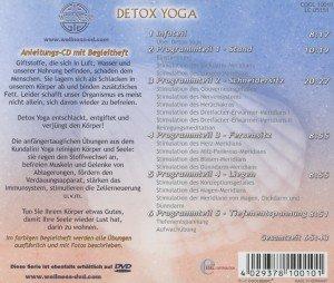 Detox Yoga: entschlacken, entgiften und verjüngen - Das effektiv