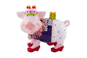 Spardose Sparschweini, Geburtstag