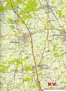 Kreis Coesfeld im südlichen Münsterland 1 : 60 000