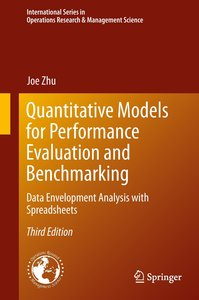 Quantitative Models for Performance Evaluation and Benchmarking