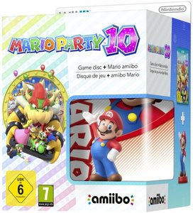 Mario Party 10 (Game disc + Mario amiibo Figur)