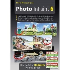 Photo InPaint 6. Für Windows 8.1, Windows 8, Windows 7, XP/Vista