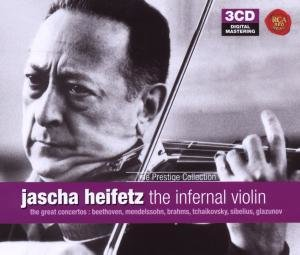 Heifetz-the main Violin Concertos
