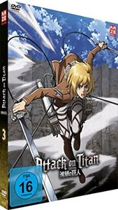 Attack on Titan - DVD 3