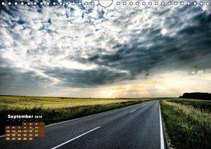 Landstraßen Europas - Abgefahren (Wandkalender 2016 DIN A4 quer)