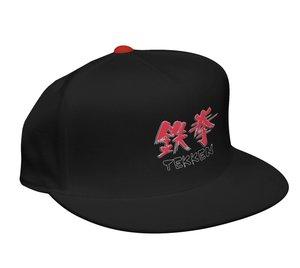 Tekken - Snap-Back Cap / Kappe - Schwarz + Logo
