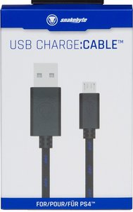 snakebyte - USB charge:cable - für Dualshock 4 Controller, Ladek