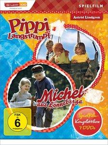 Pippi Langstrumpf & Michel Spielfilm-Box