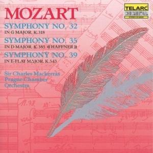 Sinfonien 32,35 & 39