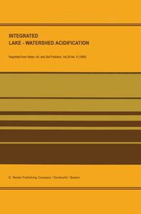 Integrated Lake-Watershed Acidification