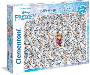 Puzzle FROSEN Die Eiskönigin Impossible .1000 Teile