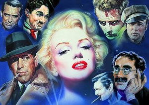 Schmidt Spiele 57550 - Renato Casaro: Marilyn Monroe und Freunde