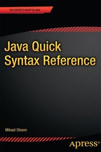 Java Quick Syntax Reference