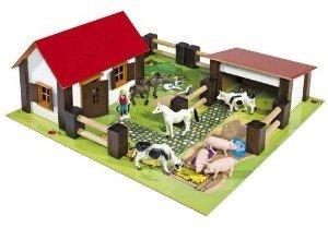 Eichhorn 100004304 - kleiner Bauernhof, 21-teilig
